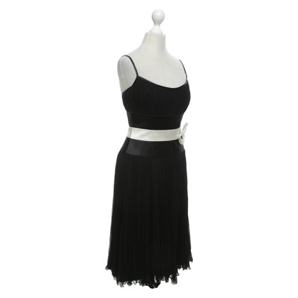 Escada Evening dress in black and white
