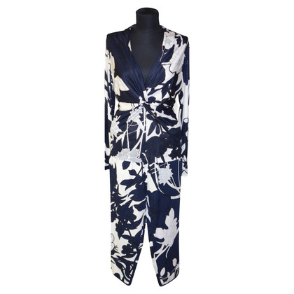 Escada two-piece with floral pattern