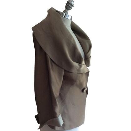 Max Mara Costume de soie