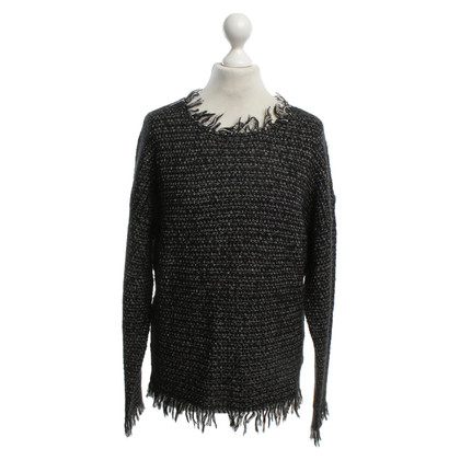 Michael Kors Knitted sweater with fringes