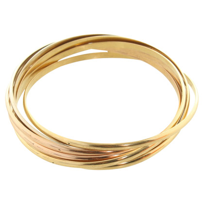 Cartier Bangles in Tricolor