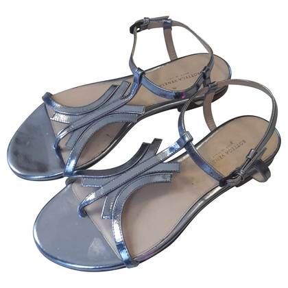 Bottega Veneta metalen sandalen