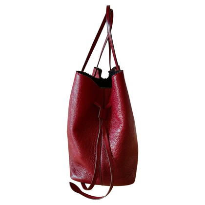 Rochas cuir Tote Bag grain