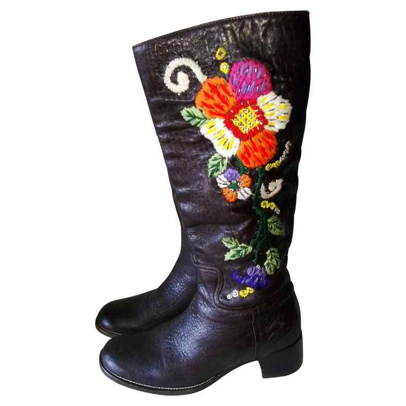Miu Miu Stivali di seconda mano: shop online di Miu Miu