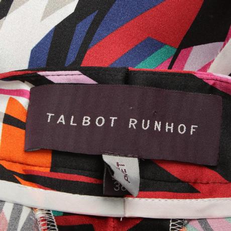 Billig Finden Große Talbot Runhof Hose mit Muster Bunt / Muster Wo Billige Echte Kaufen vTKFIT