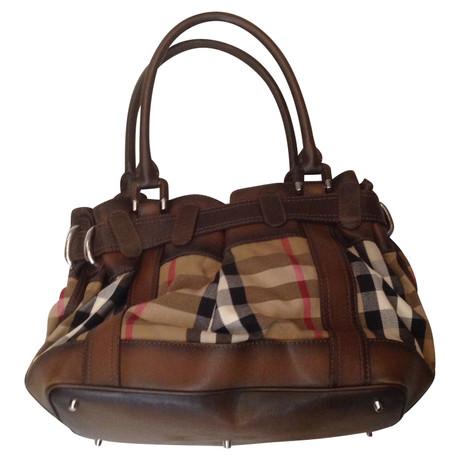 Burberry Handtasche Bunt / Muster Original-Verkauf Online sPNWb4