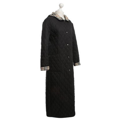 Burberry Quilted coat with plaid