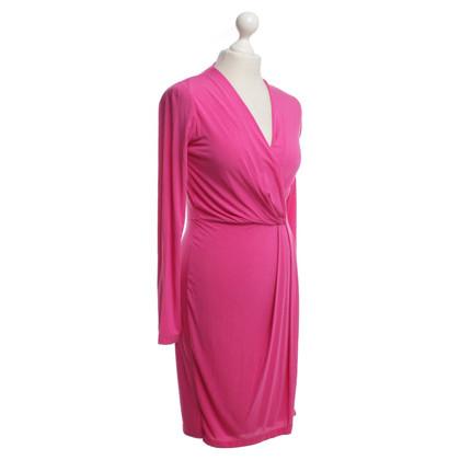 Allude Dress in fuchsia