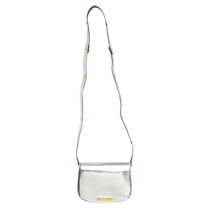 Marni Silver colored shoulder bag