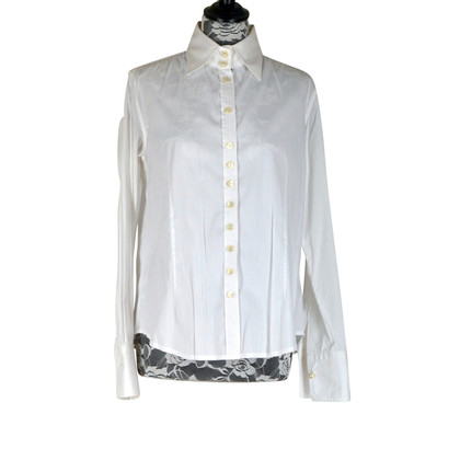 Thomas Rath Blouse in White / Blue / Red