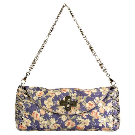 Freies Verschiffen Browse Roberto Cavalli Clutch mit Blumenmuster Bunt / Muster Billig Online-Shop Manchester CAeMhk