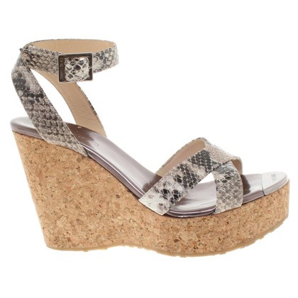 Jimmy Choo Wedges with cork trim