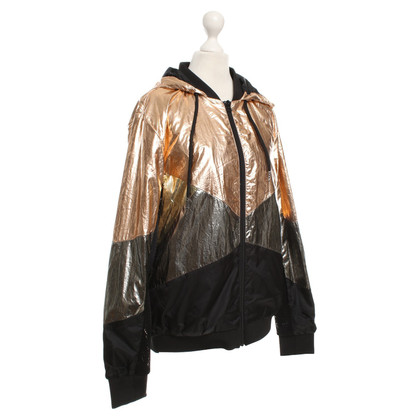 Maison Scotch Hooded Jacket Metallic