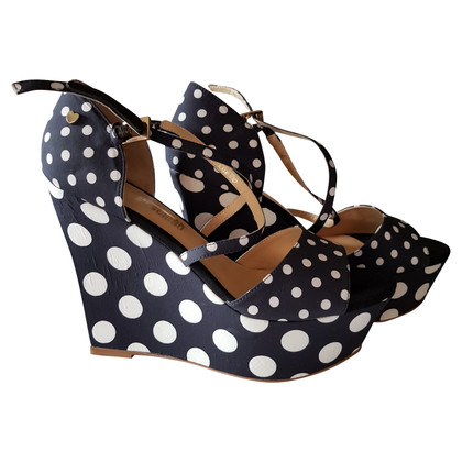 Moschino Love Wedges