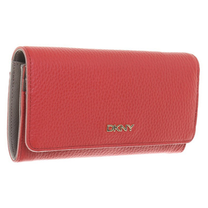DKNY Leather wallet in red