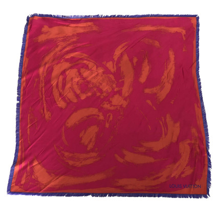 """Louis Vuitton silk carré scarf """"Arty"""" Limited Edition"""
