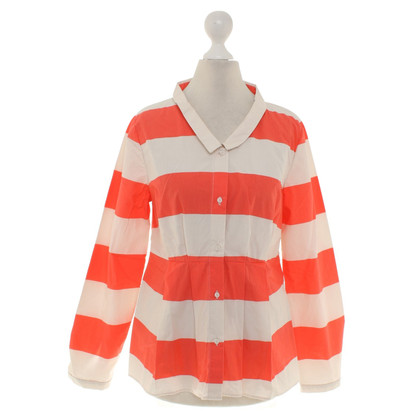 Cos Blusa in Red / Beige