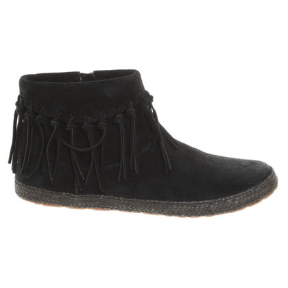 Ugg Ankle boots with fringes