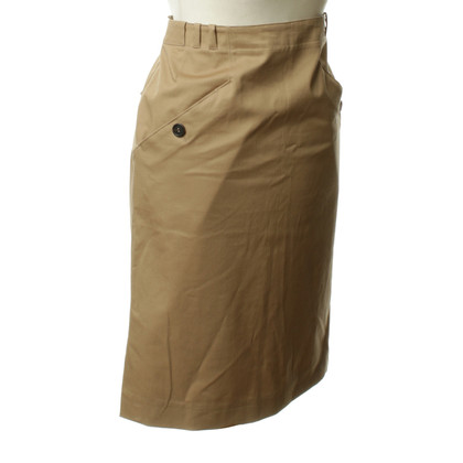Miu Miu Cotton skirt in beige