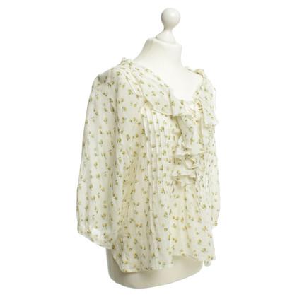 Other Designer Denim & supply - floral blouse