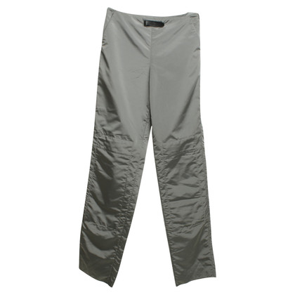 Armani trousers in silver