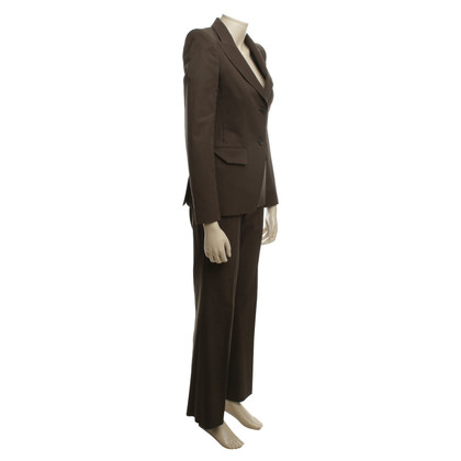 Yves Saint Laurent Tailleur pantalone in Brown