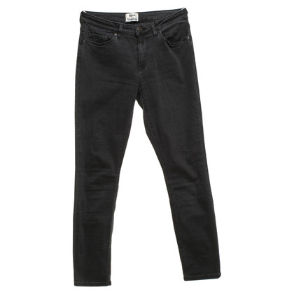 Acne Jeans in grigio scuro