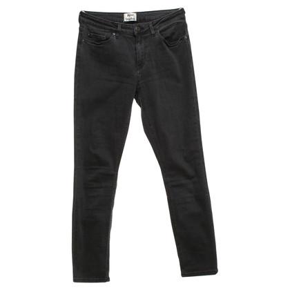 Acne Jeans in Dunkelgrau