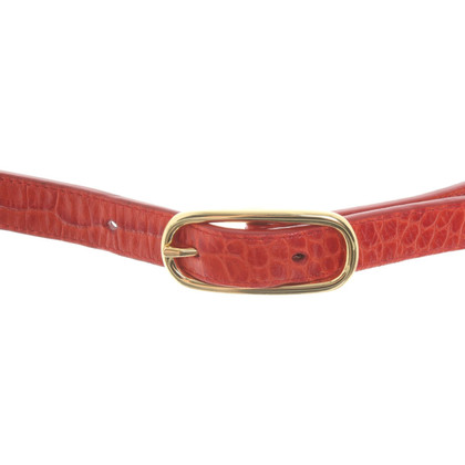 Ralph Lauren Belt with reptile embossing