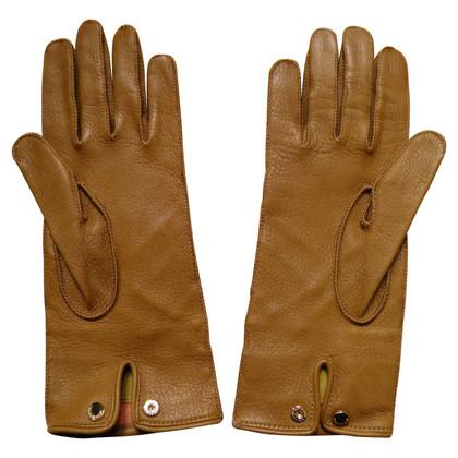 Burberry Faux fur gloves