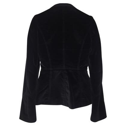 Dolce & Gabbana Zwart fluwelen jasje
