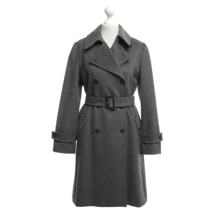 Max Mara Coat in donkergrijs