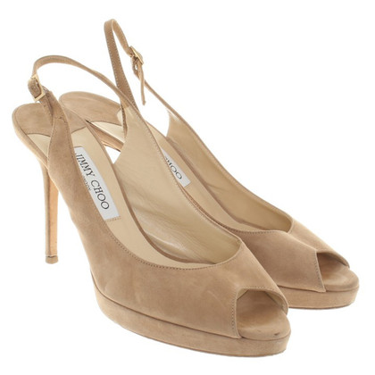 Jimmy Choo pumps from suede