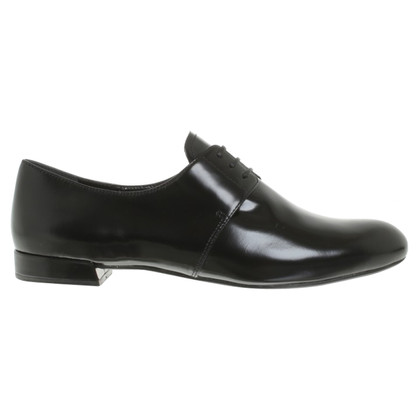 Prada Lace-up shoes in black