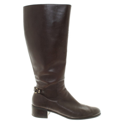 Aigner Boots in donkerbruin