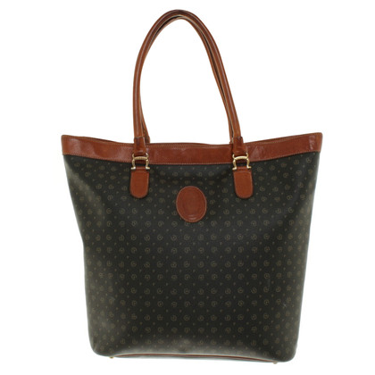 Pollini Tote Bag met Monogram patroon