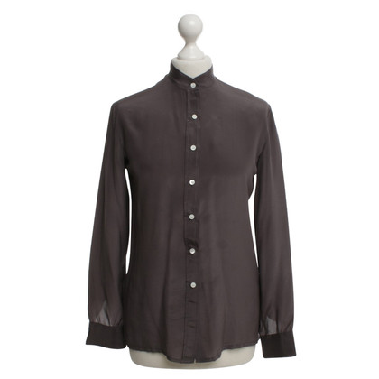 Cacharel Silk blouse in dark gray