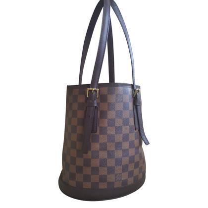 """Louis Vuitton """"Bucket Bag Damier Ebene Canvas"""""""