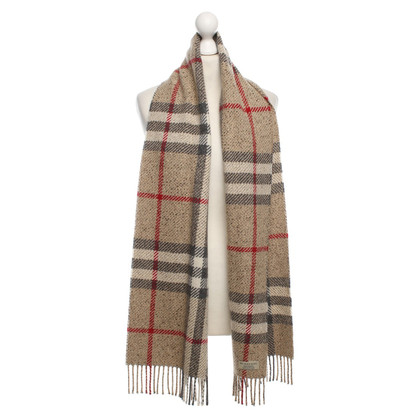 Burberry Wool scarf with fringe