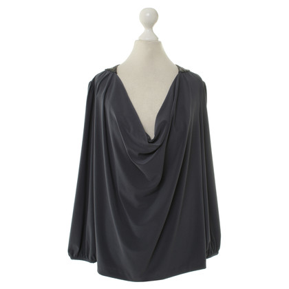 Halston Heritage Waterval hals blouse
