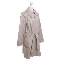 Aigner Ledertrenchcoat in Beige