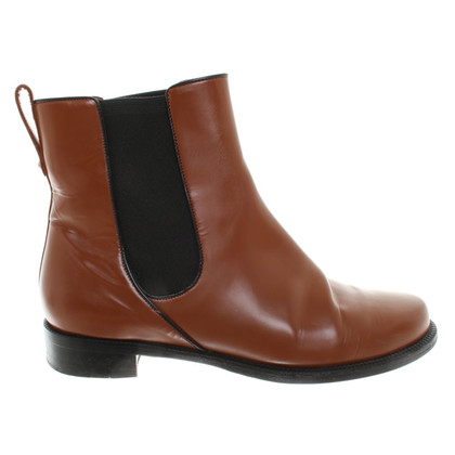 Bally Chelsea Boots in Braun
