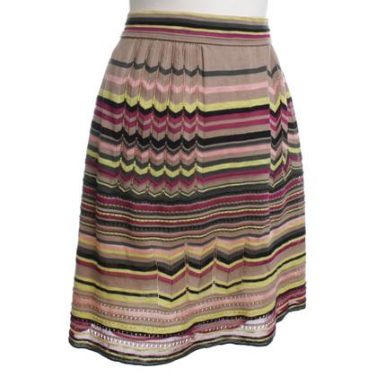 Missoni Patterned knit skirt
