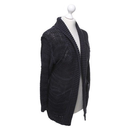 Iro Cardigan in blu scuro