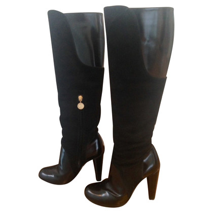 Pollini Schwarze Stiefel