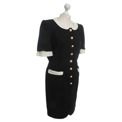 Rena Lange Zwarte wol jurk