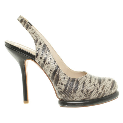 Paco Gil Pumps im Reptilien-Look