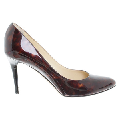 Jimmy Choo pumps with tortoiseshell pattern