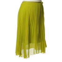 Schumacher Pleated skirt in green