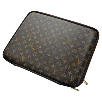 Louis Vuitton Laptopcase da Monogram Canvas